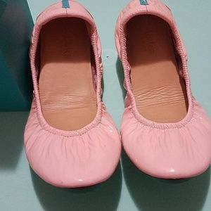 Tieks Cotton Candy patent pink 1